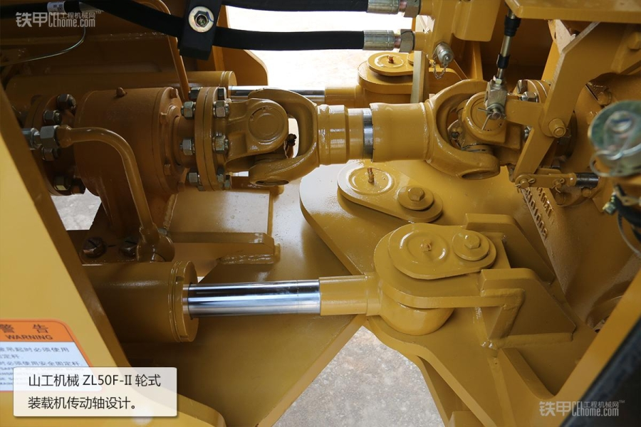 操作简单且耐用山工教程ZL5050F装载机图赏妍妆容泰机械图片