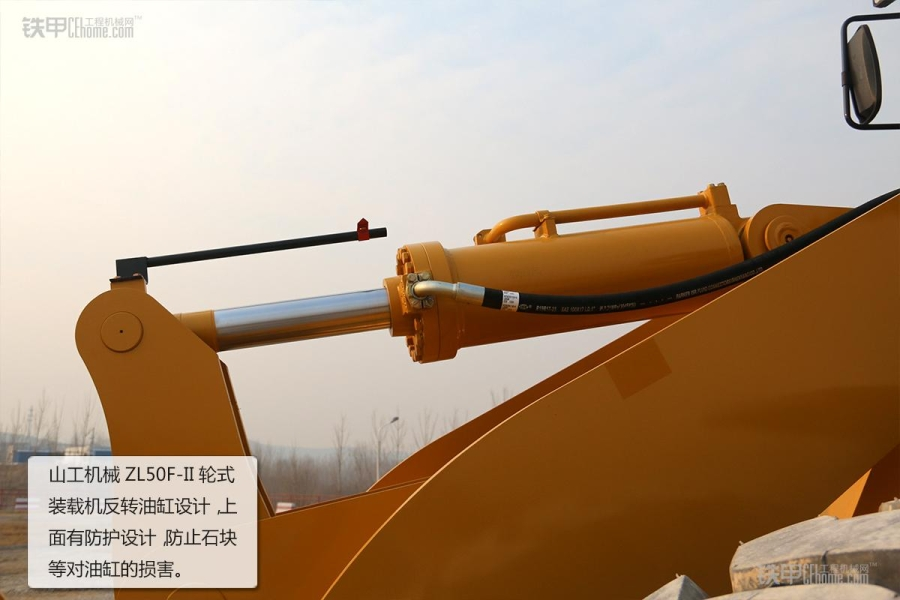 操作简单且耐用山工机械ZL5050F装载机图赏_铁集合的视频教学教程图片
