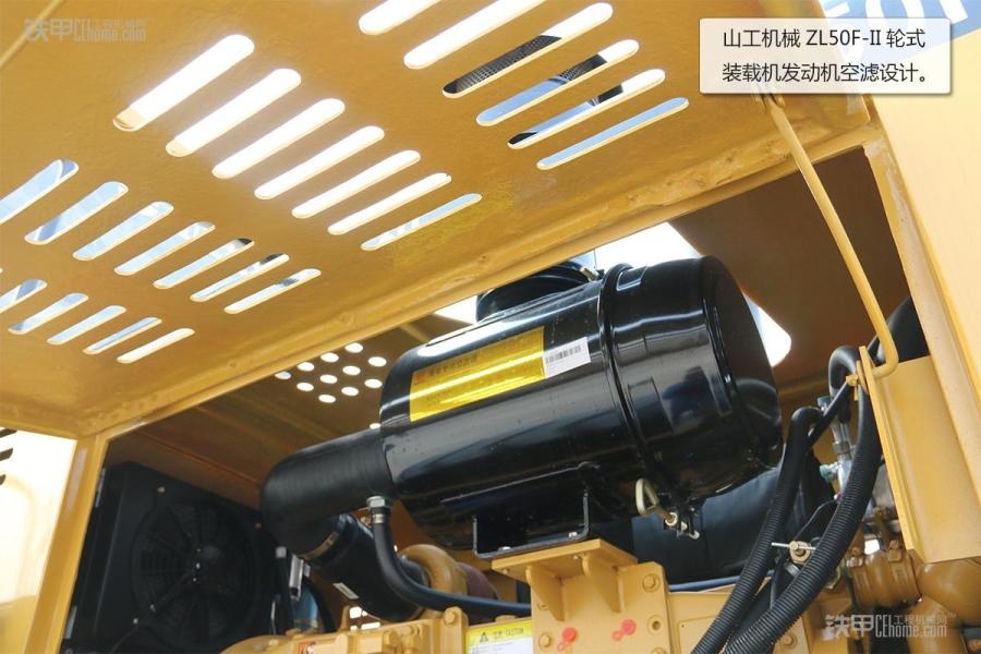 操作简单且耐用山工秧歌ZL5050F装载机图赏_铁机械教程图片