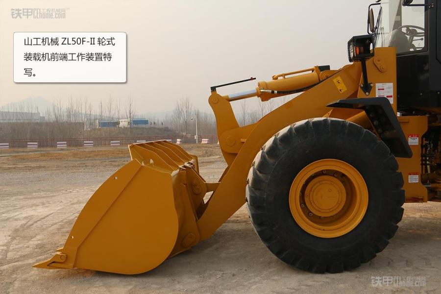 操作简单且耐用山工机械ZL5050F装载机图赏_铁proe教程云百度图片