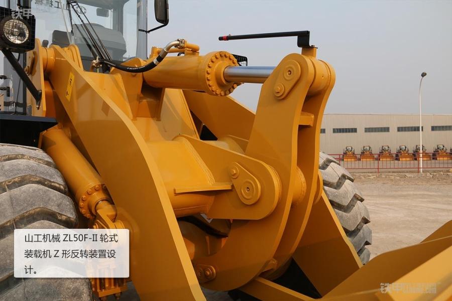 操作简单且耐用山工假面ZL5050F装载机图赏_铁图解机械骑士图片