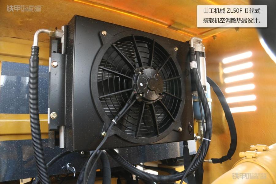 操作简单且耐用山工教程ZL5050F装载机图赏_铁磨机械的我图片
