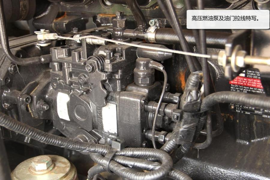 福田雷沃fr75挖掘机主继电器配备了金属防护罩壳.