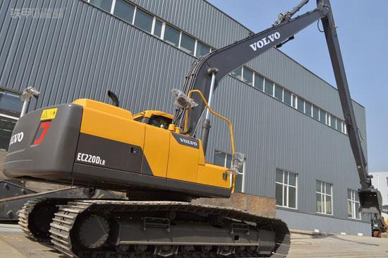 沃尔沃超长加长臂系列挖掘机
