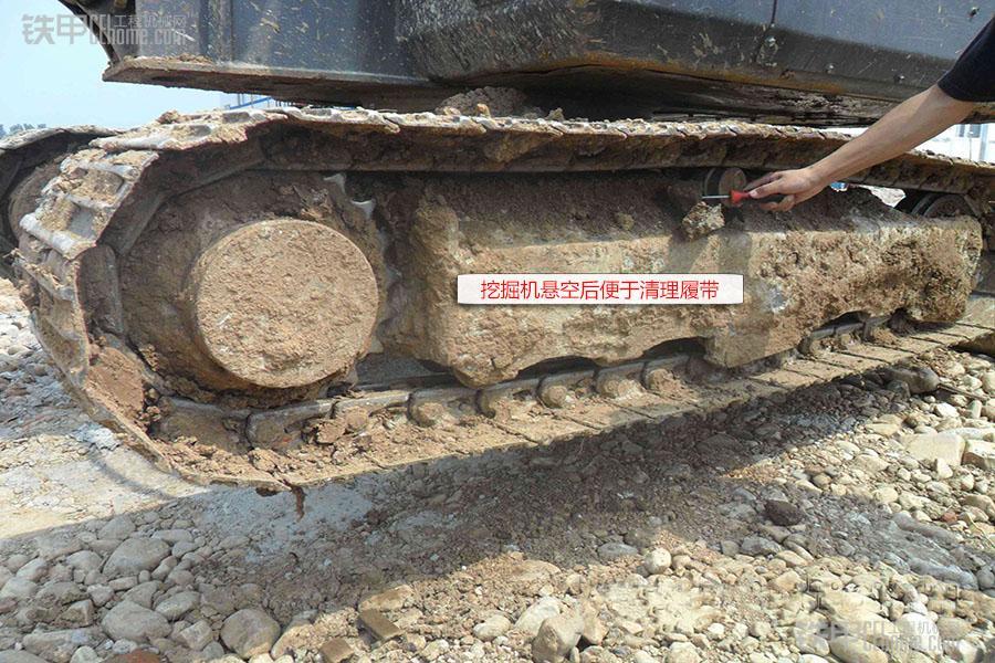 挖掘机推土铲是多余的?那是因为你不知道,它有这么多用途!(图3)