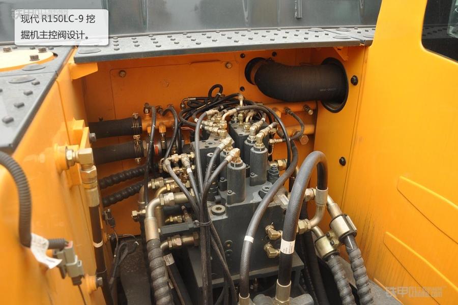 现代r150lc-9挖掘机图赏