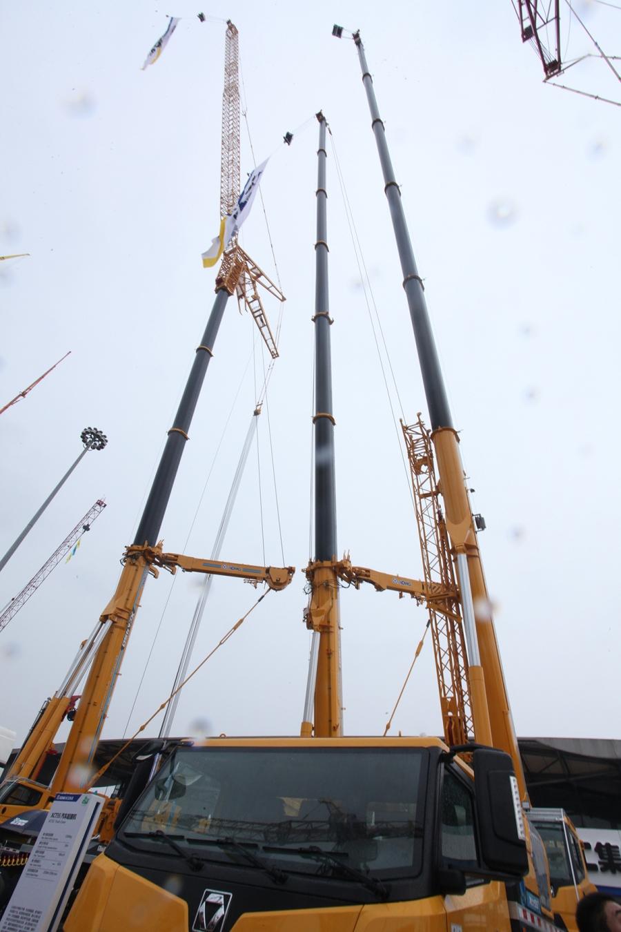 到全球最大吨位全地面起重机和履带起重机下线,徐工持续以创新驱动图片
