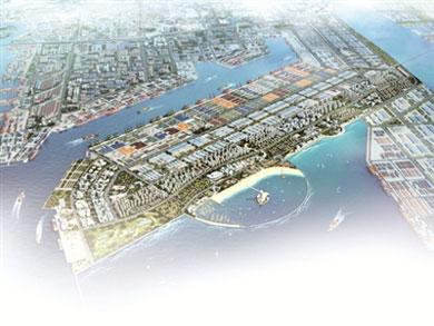 天津自贸区规划图