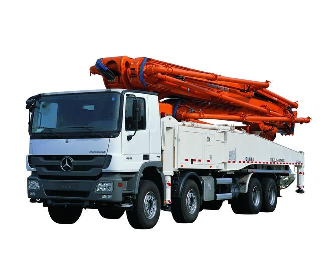 中联重科混凝土泵车