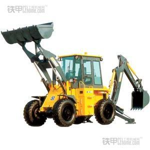 动力总成:挖掘装载机的核心结构就是动力总成