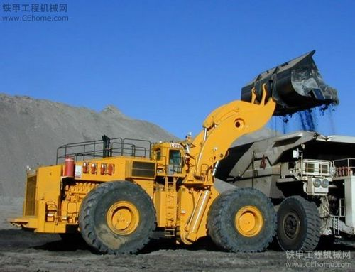 目前世界最大的装载机 一台需要5000万