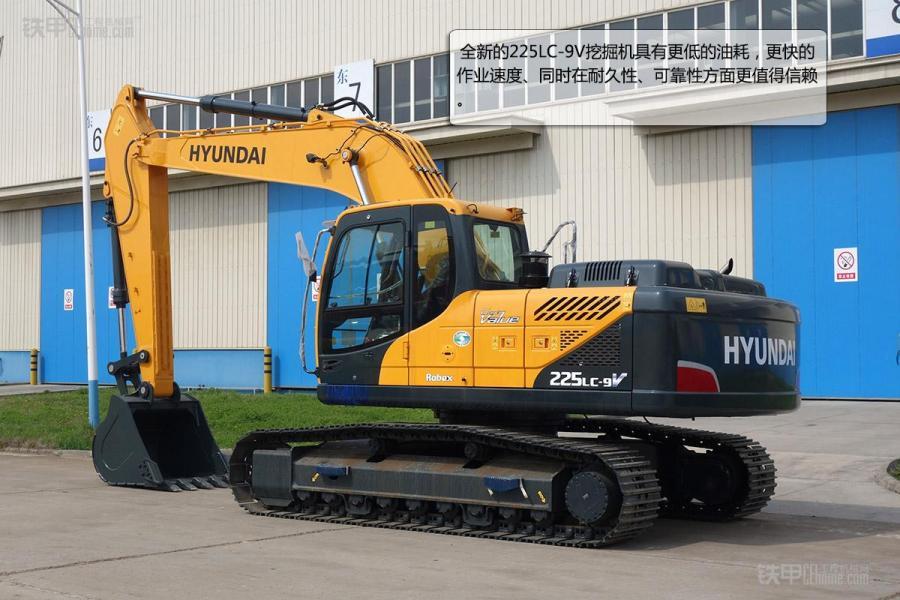 现代225lc-9v挖掘机新型仪表盘