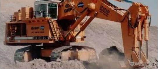 世界现役十大(500吨以上)液压挖掘机  第六位:利勃海尔liebherrr996