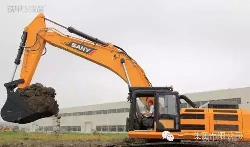 三一SY485H挖掘机-三一新一代矿山型挖掘机正式投入市场图片