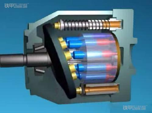 20吨系列挖掘机 发动机及液压泵解析图片