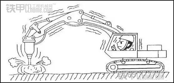 挖掘机液压破碎锤——你会正确操作吗(图2)