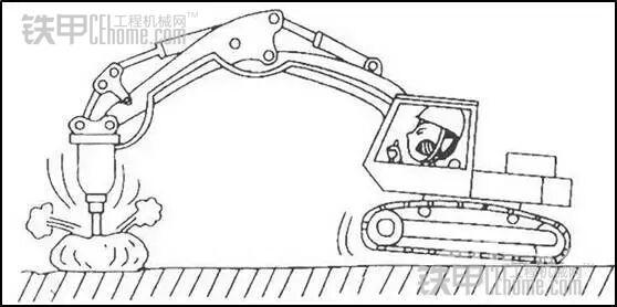 挖掘机液压破碎锤——你会正确操作吗(图3)