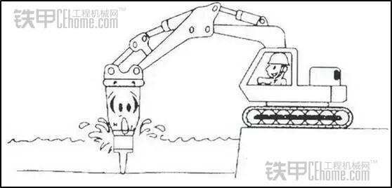 挖掘机液压破碎锤——你会正确操作吗(图11)