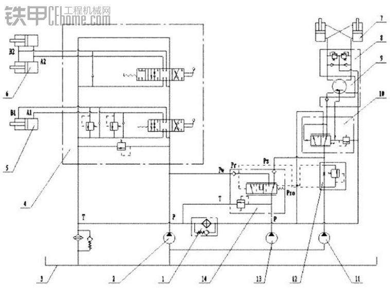 眼界大开 节能型5吨装载机液压系统剖析图片