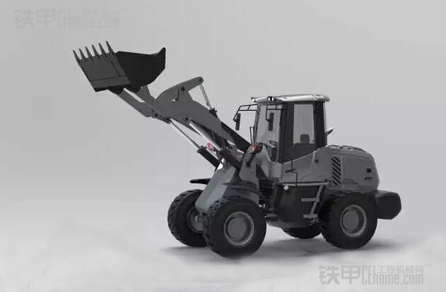 来看工程师新设计的一款小吨位时尚装载机 _亚搏体育APP网站