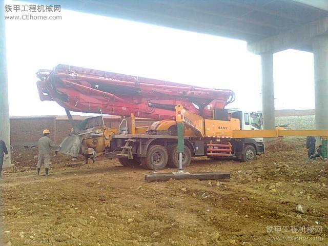 教你日常如何对混凝土泵车结构件的维护