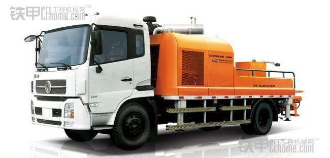 混凝土车载泵的使用过程如何防范意外(图1)