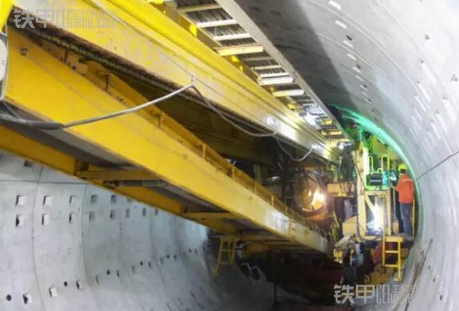 地铁施工法宝 盾构机在地铁施工的运用(图1)