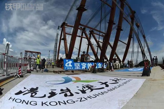 港珠澳大桥158个 关节 可抵御16级台风8级地震
