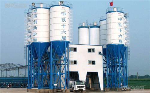 商品混凝土搅拌站生产流程与作业须知(图1)