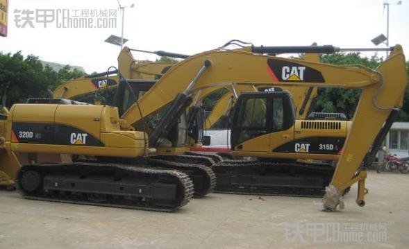 卡特320d型挖掘机发动机控制电路原理
