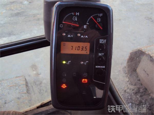 日立zx200-3g挖掘机显示器