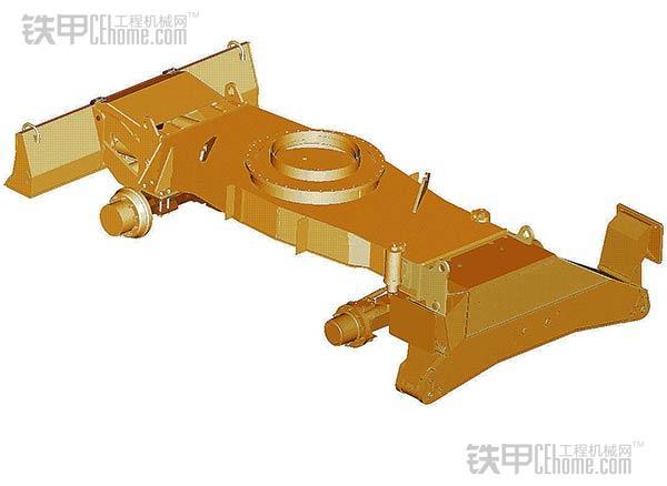 与履带有哪些不同 轮式挖掘机底盘结构