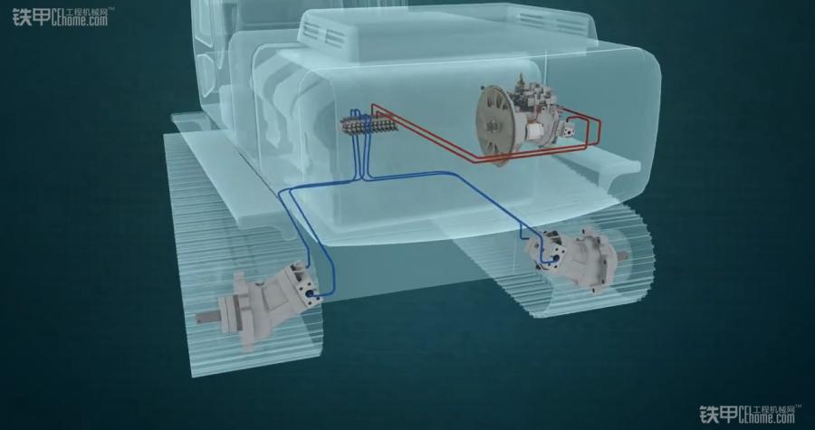 视频:揭秘挖掘机液压泵,分配阀,液压马达!图片
