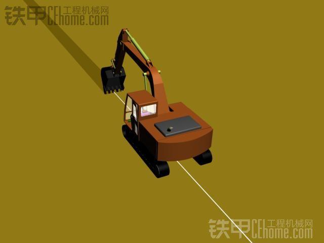 挖掘机10大高难度技术(4)——挖沟技巧(图2)