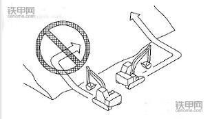 机手必看!挖掘机上下坡的8大注意事项(图5)