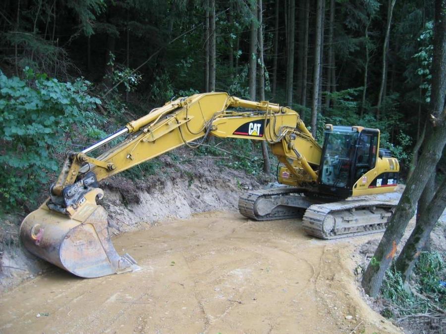 挖掘机禁止操作(2):行走作业的尺度不要太大了!(图1)