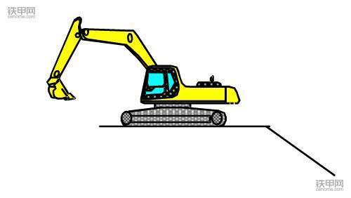 挖掘机正确操作(1):如何撑地上坡?(图9)