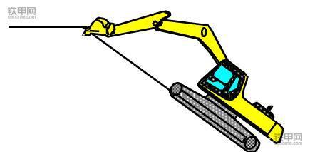 挖掘机正确操作(1):如何撑地上坡?(图6)