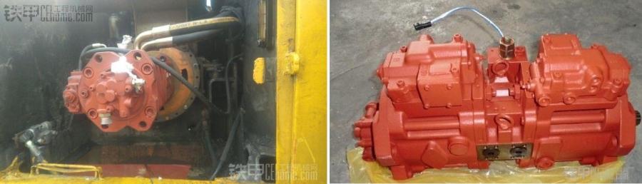 串联泵pk并联泵,挖掘机液压系统入门图片