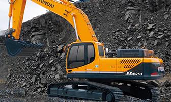 开山破斧 现代R385LC-9T挖掘机详解
