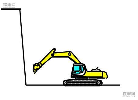 挖掘机正确操作(4):根部挖掘作业该注意什么?(图5)