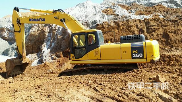 熱銷二手挖掘機top3:小松PC360-7