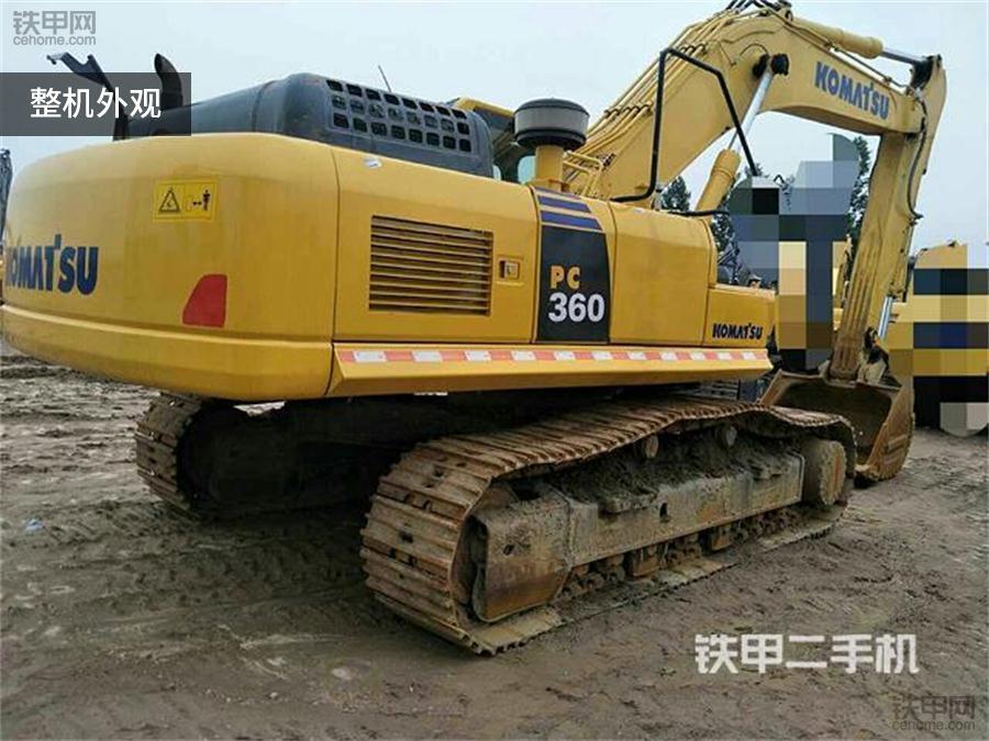 小松PC360-8M0外观