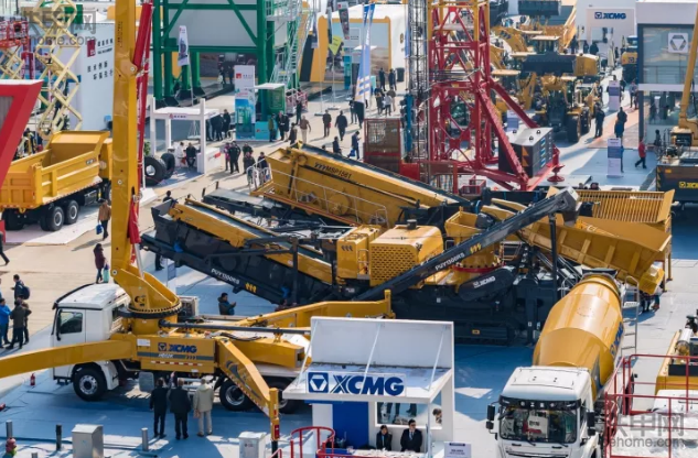 领先混凝土机械设备尽在bauma CHINA (2018年11月27-30)