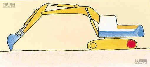 老司机教你开挖机:挖掘作业技巧有哪些?(图1)