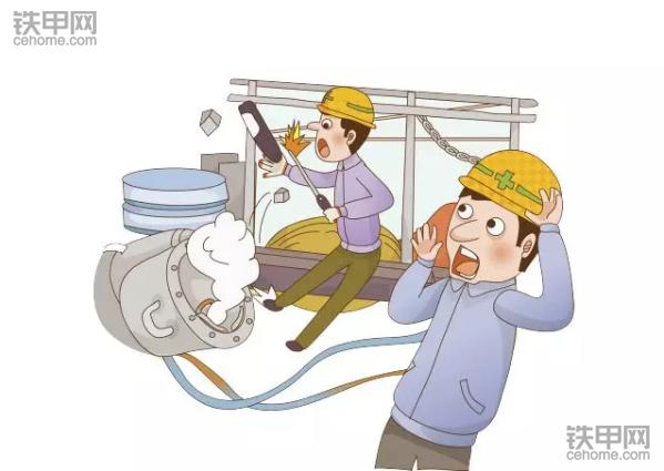 高压电机反事故措施_各类工地的事故不可不知防范要点!_铁甲工程机械网